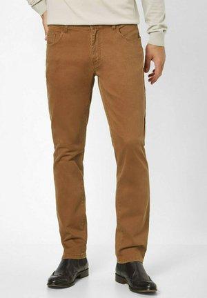 Trousers - ocker