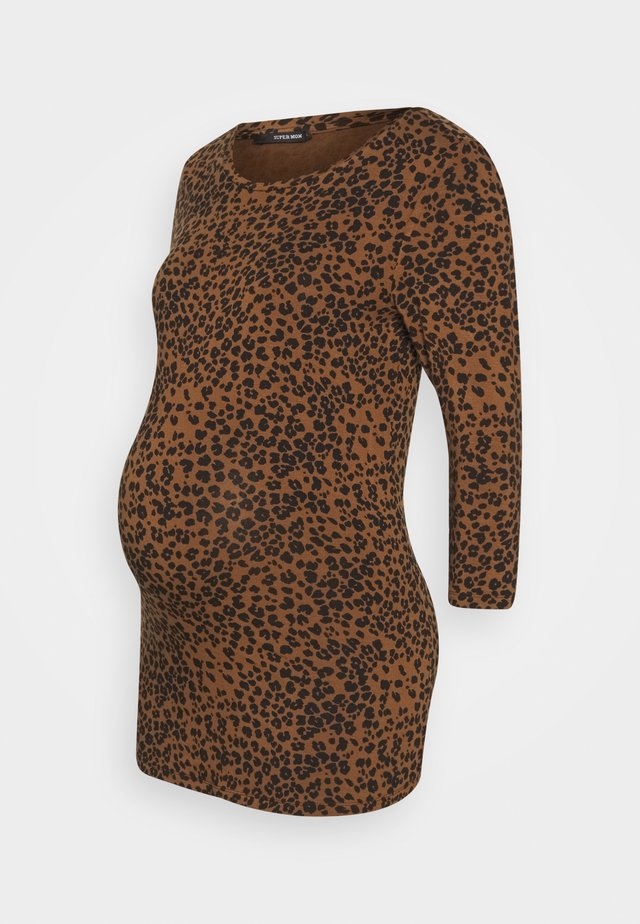 LEOPARD - Longsleeve - light brown