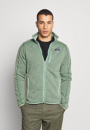 BETTER SWEATER - Fleecová bunda - ellwood green