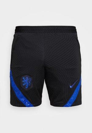NIEDERLANDE KNVB DRY SHORT - Krótkie spodenki sportowe - black/bright blue