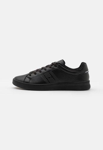 RETRO TENNIS CUPSOLE - Sneakers - black
