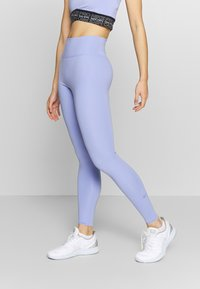 Nike Performance - ONE LUXE - Tights - light thistle/clear - 0