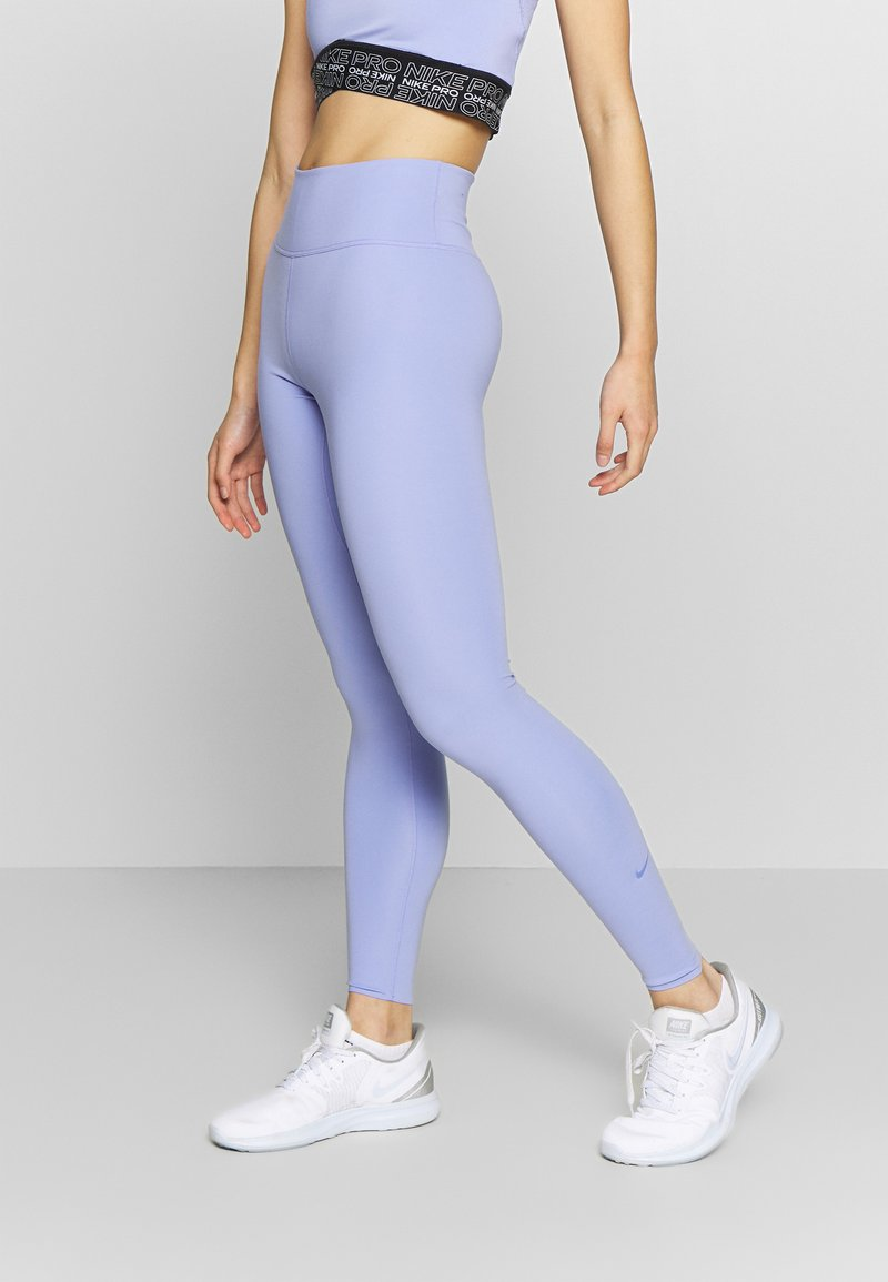 Nike Performance - ONE LUXE - Tights - light thistle/clear