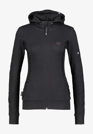 Zip-up sweatshirt - moonless