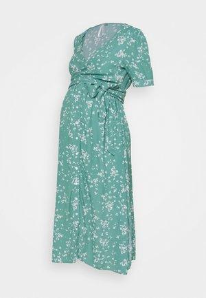 SANNA - Denní šaty - sage