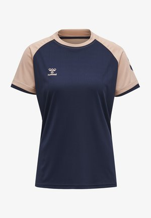 Sports shirt - marine/dusty pink