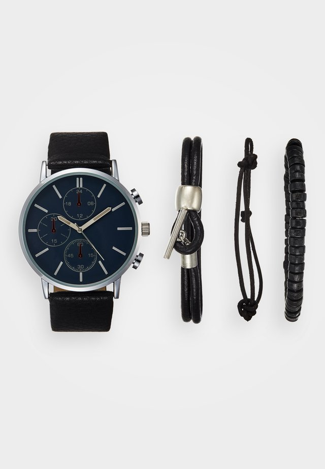 SET - Uhr - black