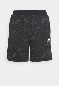adidas Performance - SHORTS - Sports shorts - black/white - 3