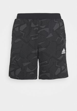 SHORTS - kurze Sporthose - black/white