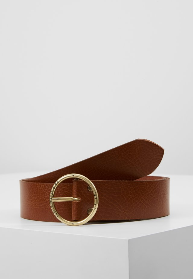 ATHENA - Belt - medium brown