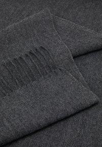 Lindex - ULLIS SCARF - Sjal - dark grey melange - 2