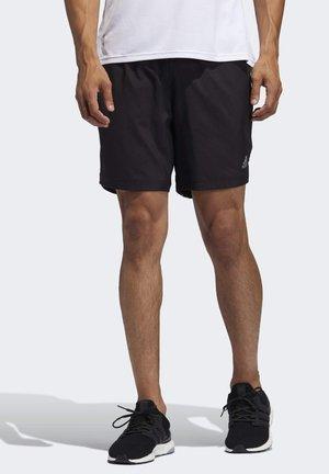 Run It 3-Stripes Shorts - kurze Sporthose - black