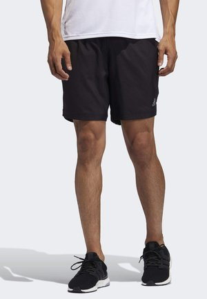 Run It 3-Stripes Shorts - kurze Sporthose - black