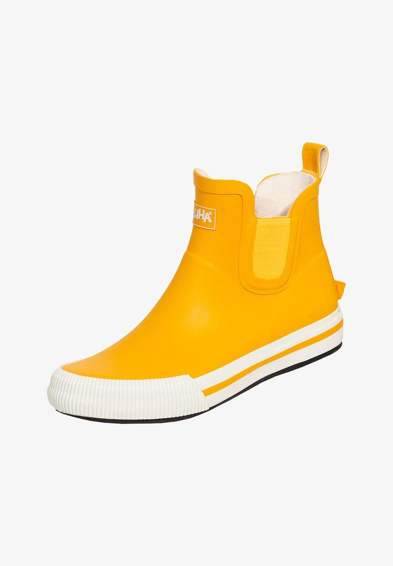 Saliha - Wellies - gelb/weiß