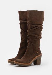 El Naturalista - HAYA - High heeled boots - brown - 2