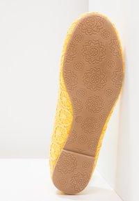 Anna Field - Ballet pumps - yellow - 5