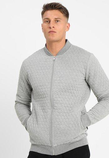 Bomber bunda - mottled grey