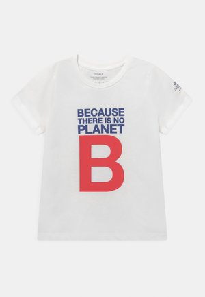 GREAT B - T-shirt med print - white