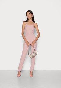 WAL G. - RIMI STRAIGHT LEG - Jumpsuit - blush pink - 1