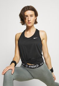 Nike Performance - TANK - Funktionsshirt - black/white - 3