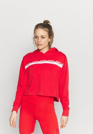 AMPLIFIED CROPPED HOODIE  - Huppari - poppy red