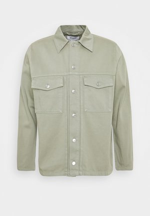 CEDOR JACKET - Denim jacket - soft grass