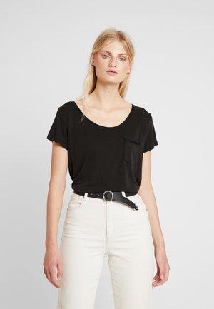 COLUMBINE  - Basic T-shirt - black