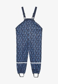 Playshoes - BAUSTELLE ALLOVER - Pantalones impermeables - marine - 2