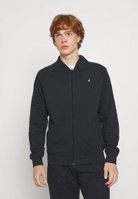 Newport Bay Sailing Club - Zip-up sweatshirt - navy - 0