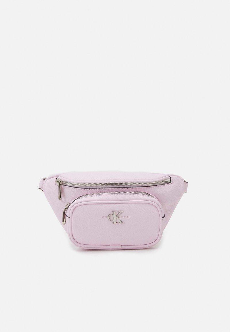 Calvin Klein Jeans - CONVERTIBLE WAIST BAG - Bum bag - pink