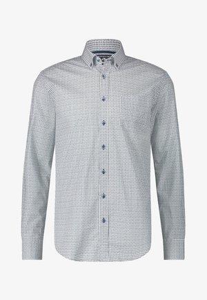 Overhemd - cobalt white