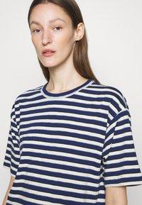 rag & bone - THE SLUB DRESS LABEL - Jersey dress - white/blue - 5