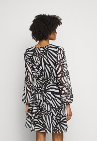 Milly - ELMA GRAPIC BUTTTERFLY DRESS - Day dress - black/white - 2