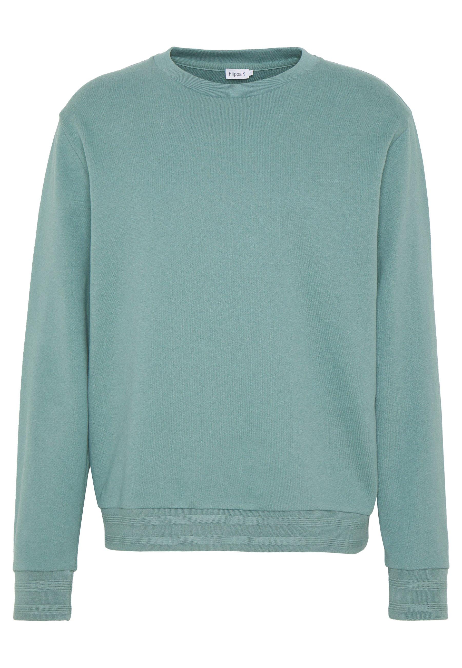 mint green and grey nike sweatshirt