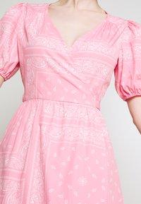 Never Fully Dressed - BANDANA DRESS - Maxi dress - pink - 7