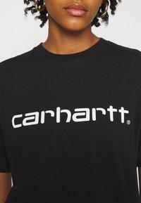 Carhartt WIP - SCRIPT - Camiseta estampada - black/white - 4