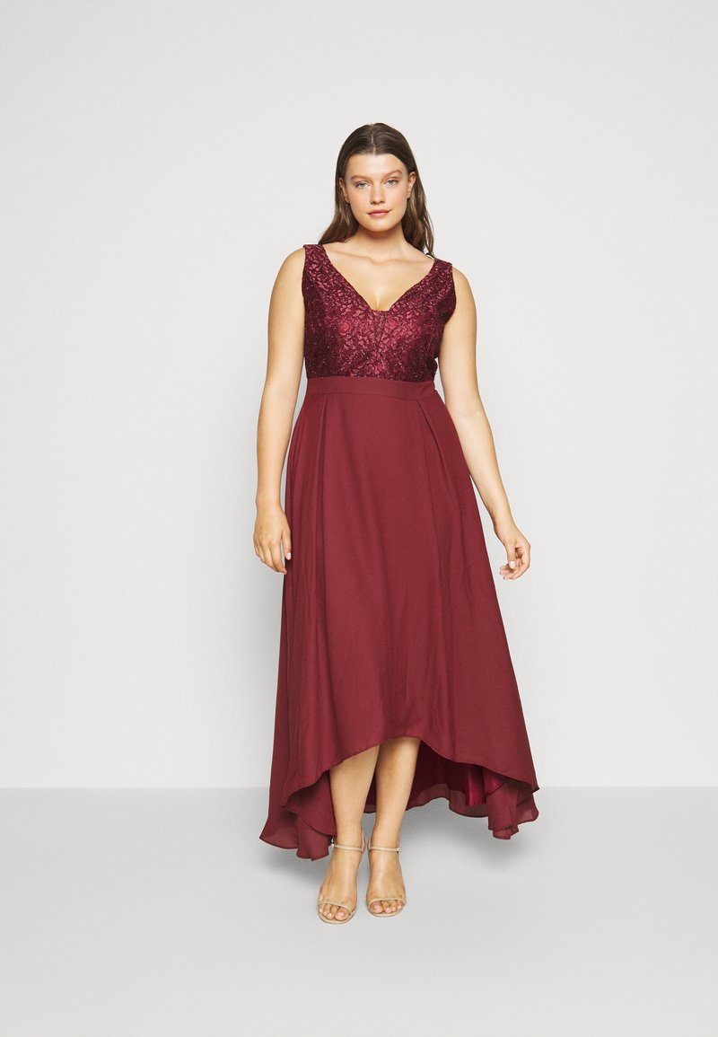 Swing Curve - Occasion wear - earth red