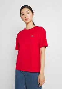 Lacoste - Basic T-shirt - rouge - 0
