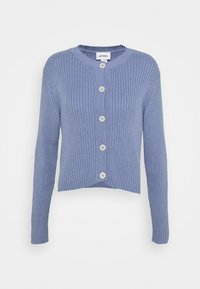 Monki - PAMELA CARDIGAN - Cardigan - blue light - 4