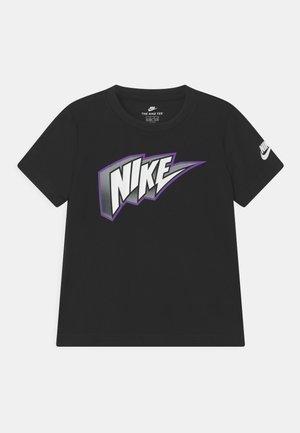 THUNDER BLOCK  - Camiseta estampada - black