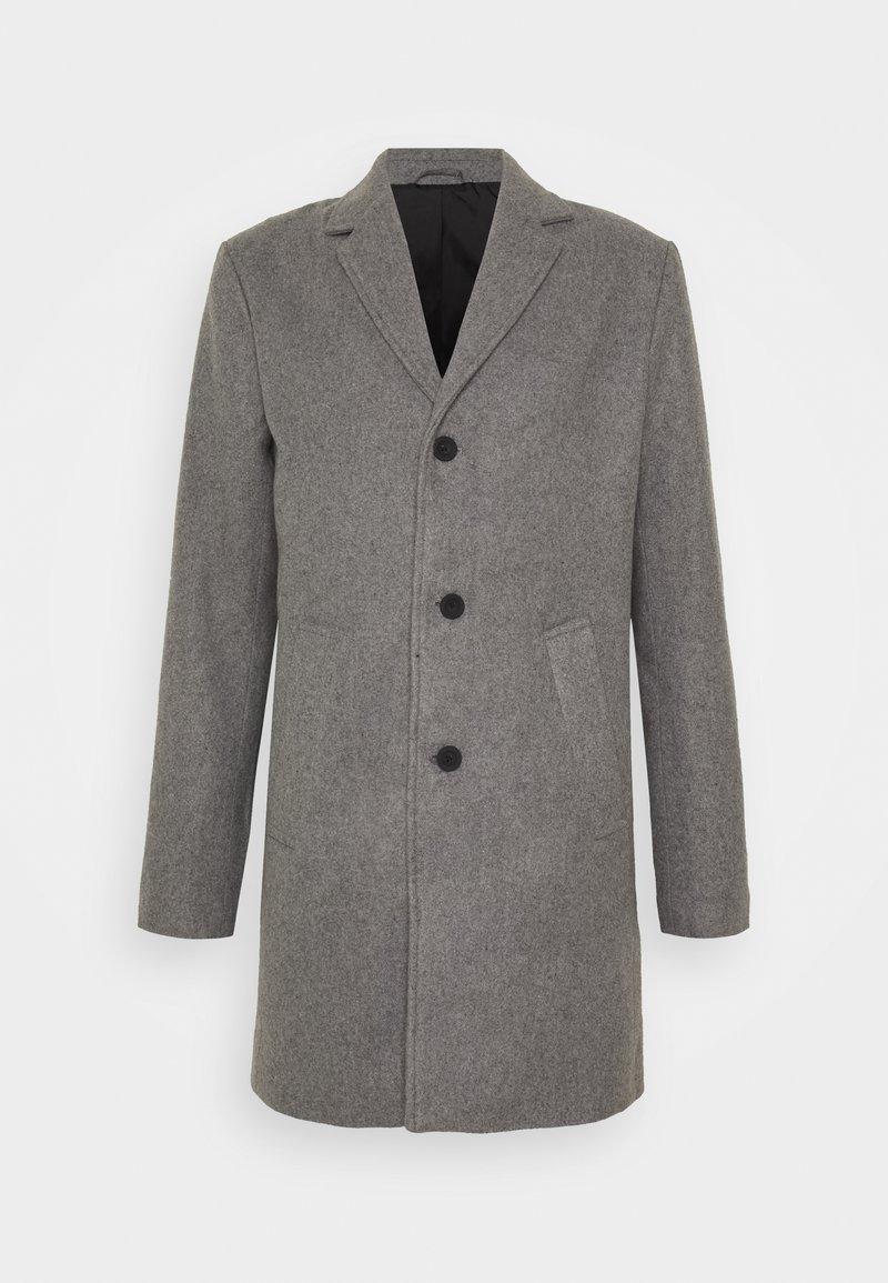 Solid - JACKET FAYETTE - Classic coat - grey melange
