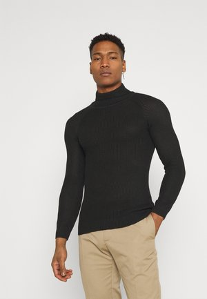 GREENFORDA - Sweter - black