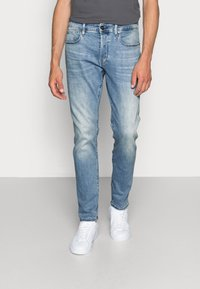 G-Star - 3301 SLIM - Slim fit jeans - elto superstretch - lt indigo aged - 0