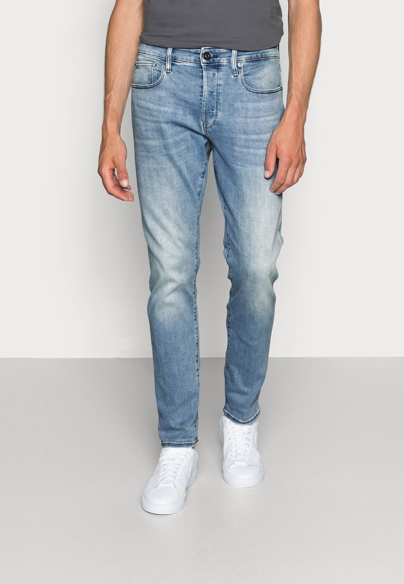 G-Star - 3301 SLIM - Slim fit jeans - elto superstretch - lt indigo aged