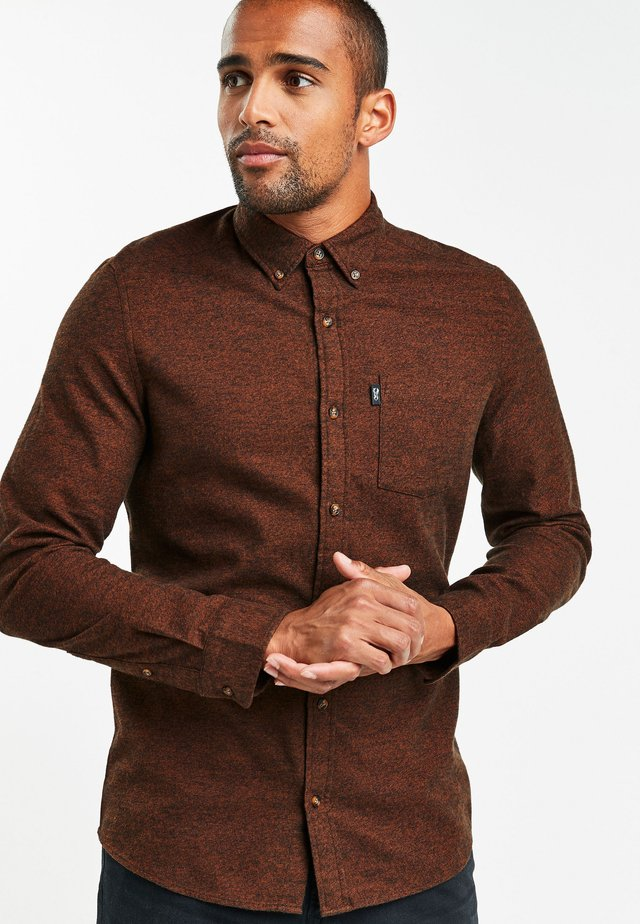 JASPE - Shirt - brown
