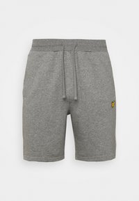 Sports shorts - mid grey marl