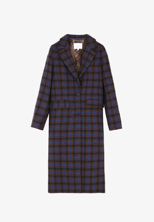 Classic coat - brown check