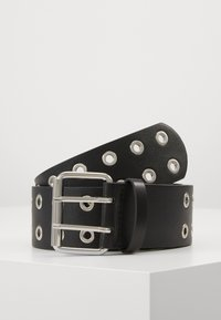 Pieces - PCMILA WAIST BELT - Belt - black/silver-coloured - 0