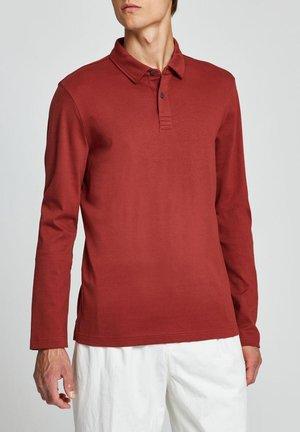 Polo shirt - red bark