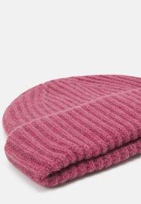 Samsøe Samsøe - BANKA HAT - Beanie - pink melange - 2